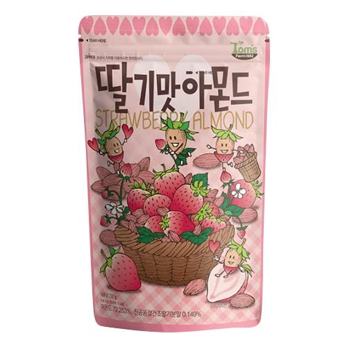 길림양행  딸기맛 아몬드 210g (20개)_이미지