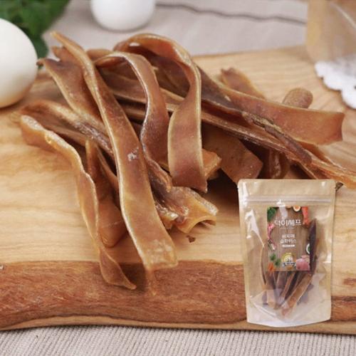블루티아 덕이셰프 돼지귀 슬라이스 50g(2개)