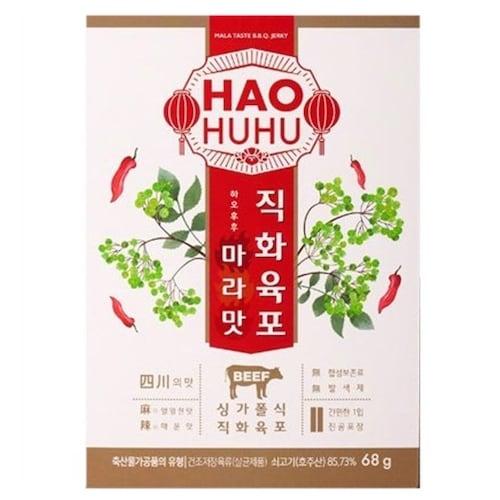 하오후후 마라맛 쇠고기 직화육포 68g (2개)_이미지