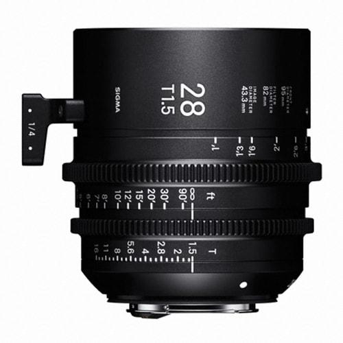 SIGMA CINE 28mm T1.5 FF 캐논용 (정품)_이미지