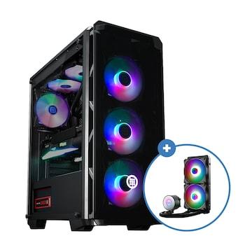 마이크로닉스 Master T500 2020 + AID W240 aRGB(블랙 패키지)