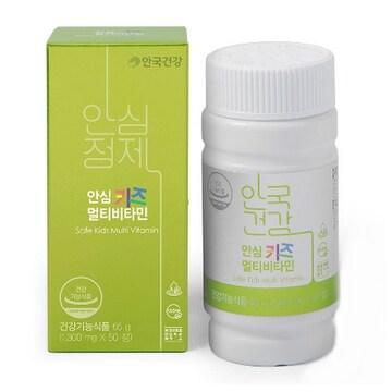 안국건강 안심 키즈 멀티비타민 50정(1개)