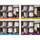 도이첸  베르샤 화이트 슬라이딩 붙박이장 (30cm)_이미지