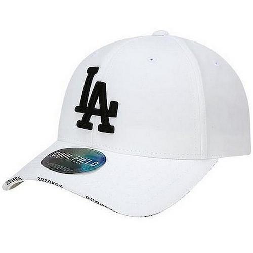 MLB LA 다저스 쿨필드 베이직 오레오 커브캡 32CPCZ811-07W_이미지