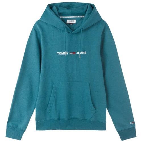 타미진 남녀공용 로고 후드 티셔츠 T31J7TTO028MT6 CA4_이미지