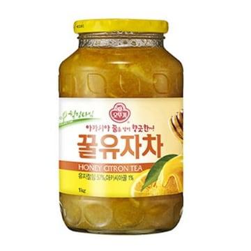 오뚜기  꿀유자차-7 1kg (1개)