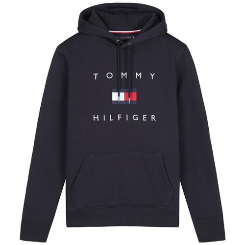 타미힐피거 레귤러핏 플래그 후드 티셔츠 T12A7TPO130MT1 DW5