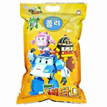 남양F&B 로보카폴리 비타D플러스 복숭아맛 1000정(1개)