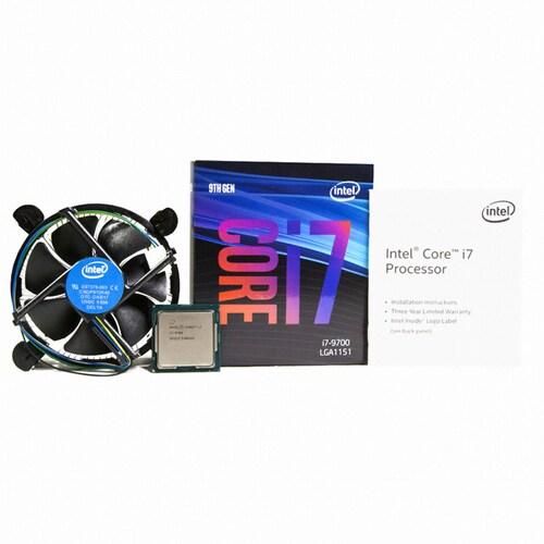 인텔 코어i7-9세대 9700 (커피레이크-R) (정품)_이미지