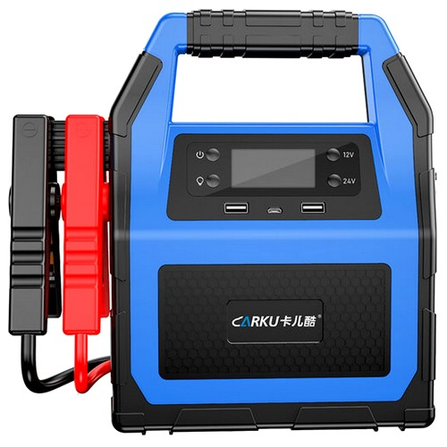 배터리 자동차 방전 점프스타터 블루 (해외구매)