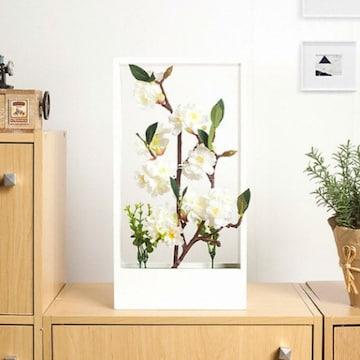 Tree 플라워가든 조화 화분 흰벚꽃