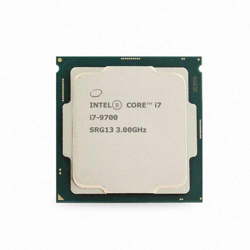 인텔 코어i7-9세대 9700 (커피레이크-R) (중고)_이미지