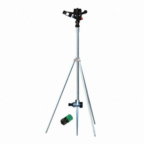 다농  스프링쿨러 헤드 DP-2 + 단본조용 스파이크 삼각지주대 16 세트 (19mm 호스용)_이미지