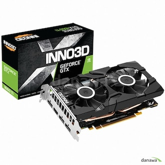 INNO3D 지포스 GTX 1660 Ti D6 6GB TWIN X2_이미지