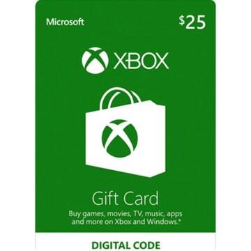 SIE XBOX Live 기프트 카드 북미 (XBOX ONE)(25달러)