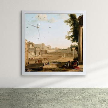 클로드 로랭 캄포바치노 로마 액자벽시계 px017