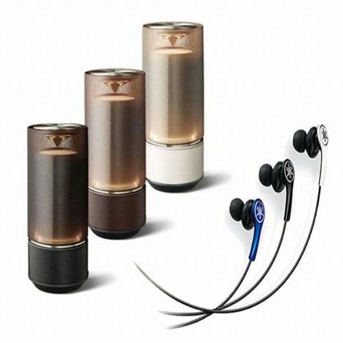 야마하 LSX-70 (야마하 EPH-M100 이어폰, 정품)_이미지