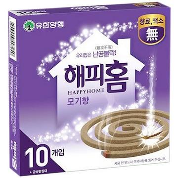 해피홈 모기향S 10개입(1개)