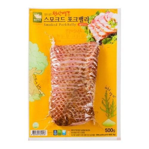 청산식품 청산별돈 스모크드 포크밸리 500g (1개)_이미지