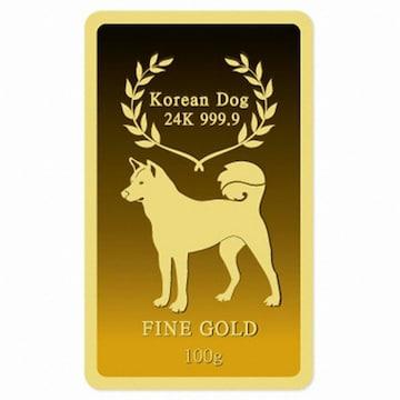 2018 황금개띠 순금골드바 7.5g [두돈]