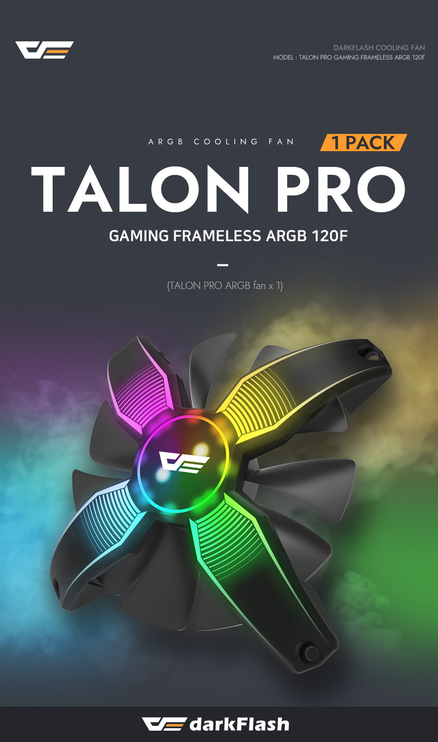 darkFlash TALON PRO ARGB (1PACK)