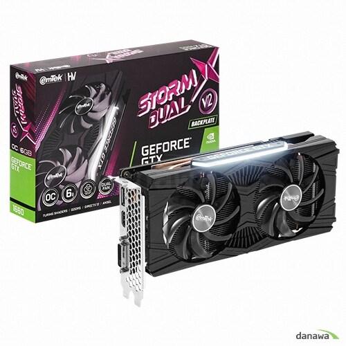 이엠텍 HV 지포스 GTX 1660 STORM X Dual V2 OC D5 6GB