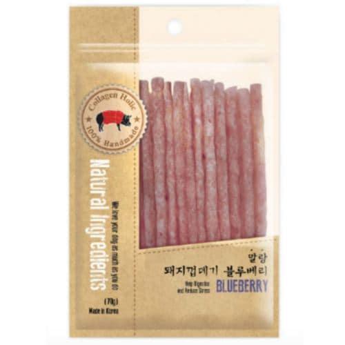 에이치엔에프 말랑 돼지껍데기 블루베리 70g (1개)_이미지