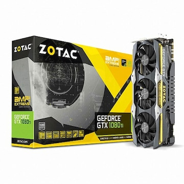 ZOTAC AMP EXTREME CORE 지포스 GTX1080 Ti D5X 11GB