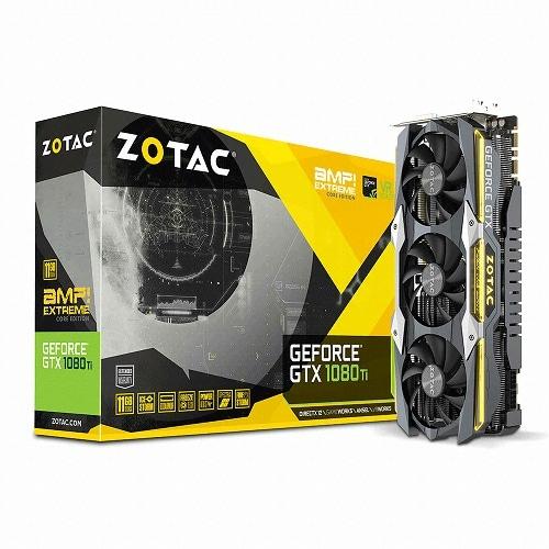 ZOTAC AMP EXTREME CORE 지포스 GTX1080 Ti D5X 11GB_이미지