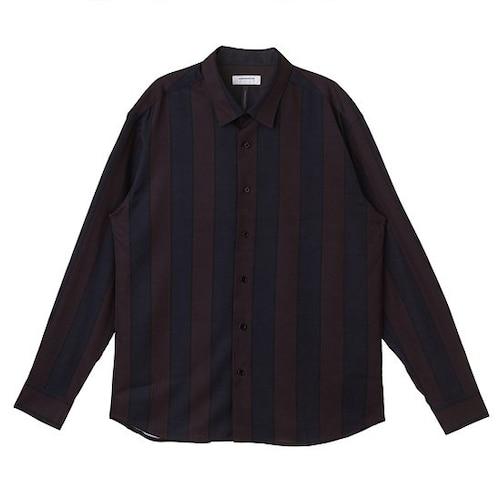 코오롱인더스트리 커스텀멜로우 L.D.H  Bold-stripe shirt CWSAW16499WIX_이미지