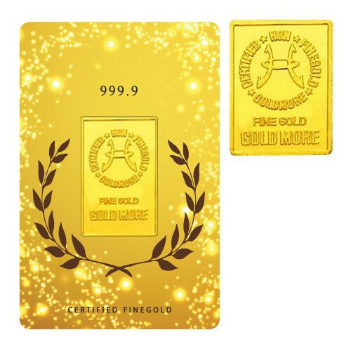 월계 골드바 카드 10g (2.6돈)