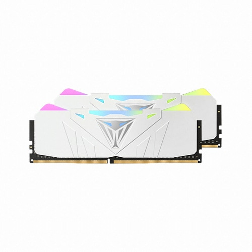 PATRIOT DDR4 16G PC4-21300 CL15 VIPER RGB 화이트 (8Gx2)_이미지