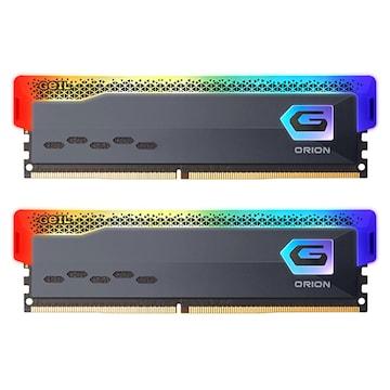 GeIL DDR4-3600 CL18 ORION RGB Gray 패키지 (64GB(32Gx2))_이미지