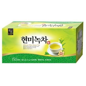 송원식품  현미녹차 150T (1개)