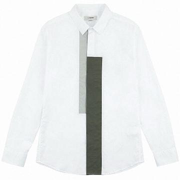 티아이포맨 포인트 스트레치 화이트 셔츠