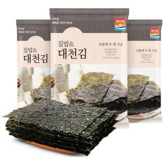 해의락 집밥 대천김 20g (20개)_이미지