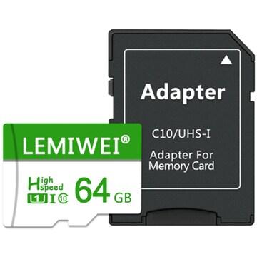 LEMIWEI micro SD LW-TF02 해외구매 (64GB+어댑터)_이미지