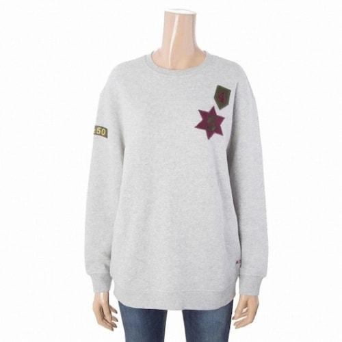 지엔코 써스데이아일랜드 여성 와펜 포인트 스웨트 셔츠 T168MST235W_이미지