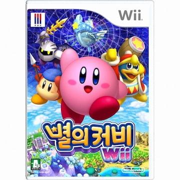 Nintendo 별의 커비 Wii