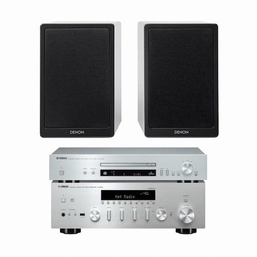 야마하 R-N602 + CD-N301 + 데논 SC-N9_이미지