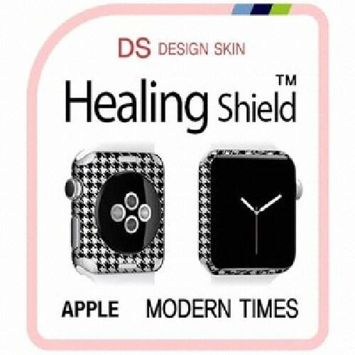 폰트리 힐링쉴드 애플 워치2 42mm 디자인스킨 외부보호필름 MODERN TIMES-DW050 (2매)_이미지