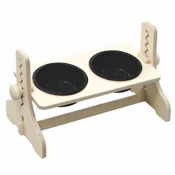 힐링타임 높이조절 원목식탁 도자기 2구(블랙)