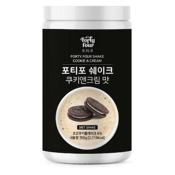 케이와이바이오  포티포 쉐이크 쿠키앤크림맛 700g (1개)