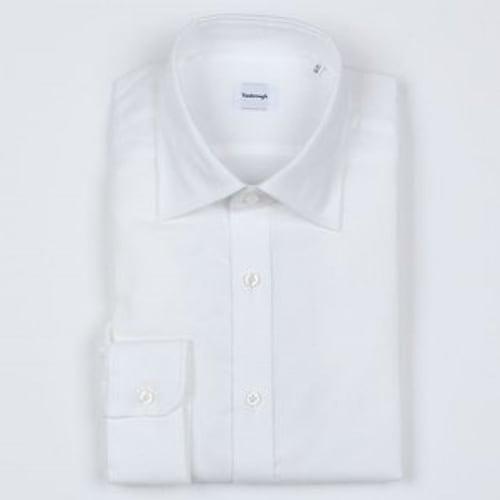 지엠아이 밴브루 울 혼방 솔리드 세미와이드 셔츠 BGFSG1050WH_이미지