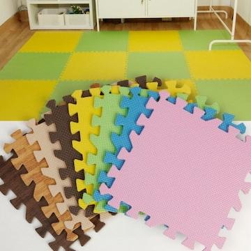 컬러 퍼즐매트 (10장, 30.5x30.5x1cm)