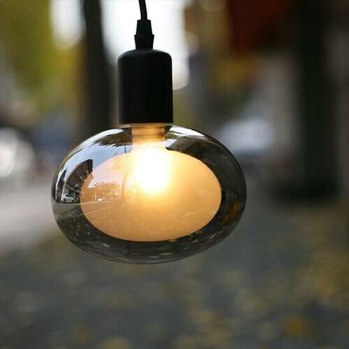 룩스램 LED G150 버블 타원형 에디슨전구 전구색 2W_이미지