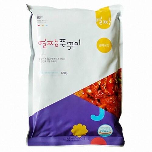 동우식품  얼짱양념쭈꾸미 덜매운맛 650g (1개)_이미지