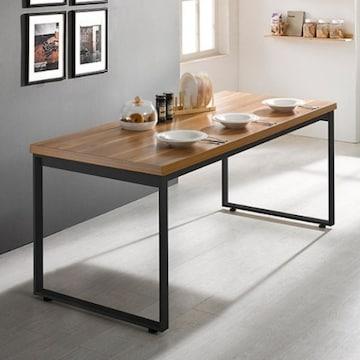 e스마트  스틸헤비 테이블 사각다리 (180x80cm)