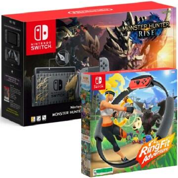 Nintendo 닌텐도 스위치 몬스터 헌터 라이즈 에디션 1인용 게임타이틀 패키지