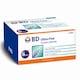 벡톤디킨슨  BD 울트라 파인 인슐린주사기 0.5ml 31G 6mm (100개)_이미지
